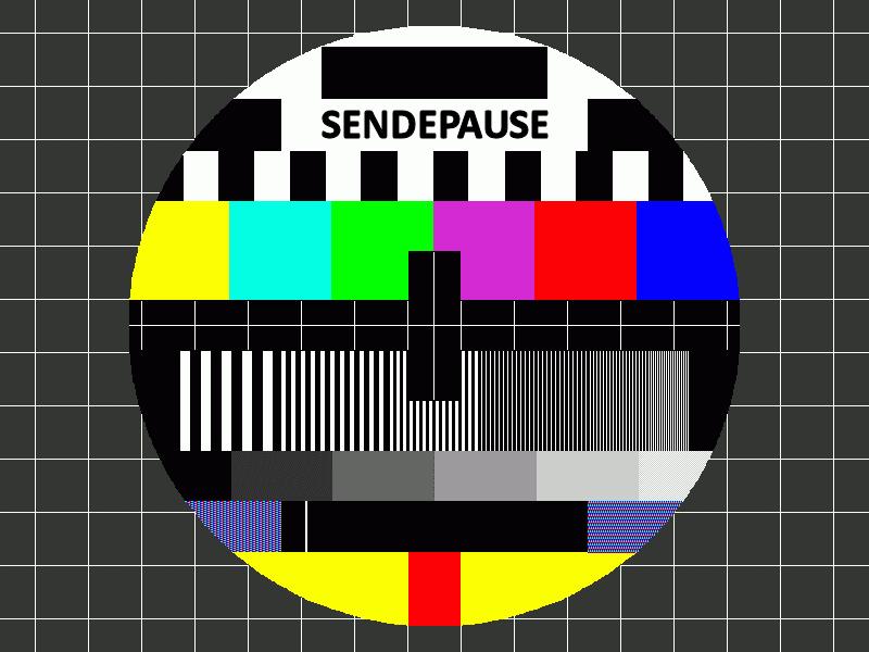 Sendeschluss Bild